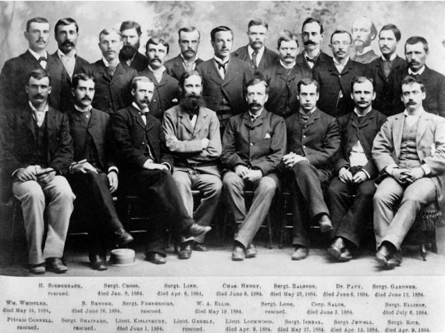 Экспедиция лейтенанта Грили. Лейтенант и еще 25 человек отплыли из Ньюфаундленда в 1881 году и направились на Крайний Север, где планировали изучить пока плохо известный край.