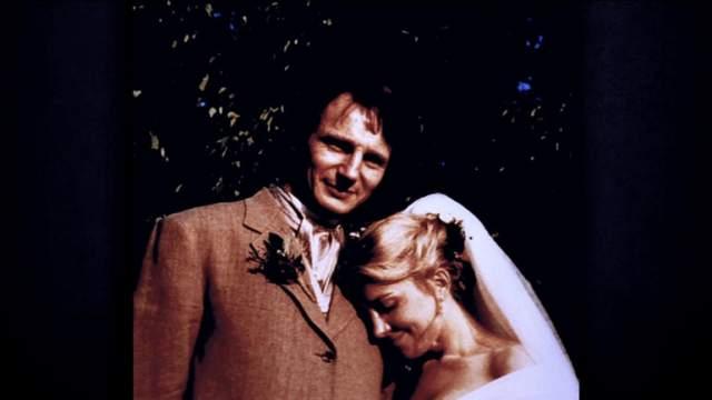 Поженились спустя год.