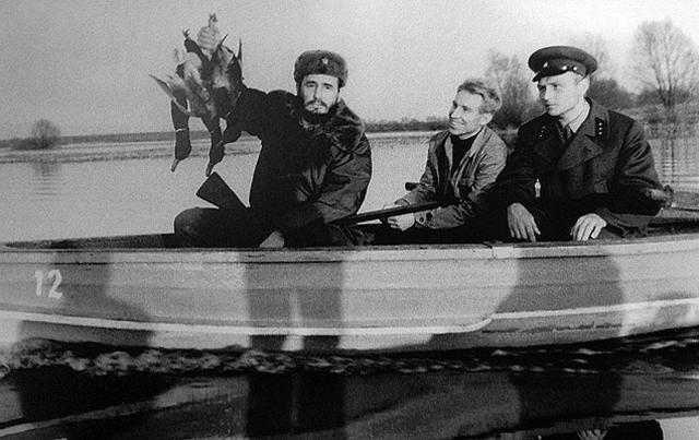 Среди прочих развлечений Фиделю предложили охоту, которой так увлекался Хрущев.