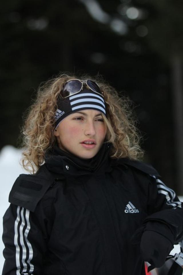 Стефани Попова. Спортсменка из еще одной жаркой страны - Болгарии.