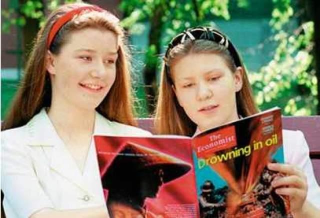 После этого девочки стали студентками факультета международных экономических отношений Финансовой академии при Правительстве РФ и получили дипломы экономистов в 14 и 13 лет.