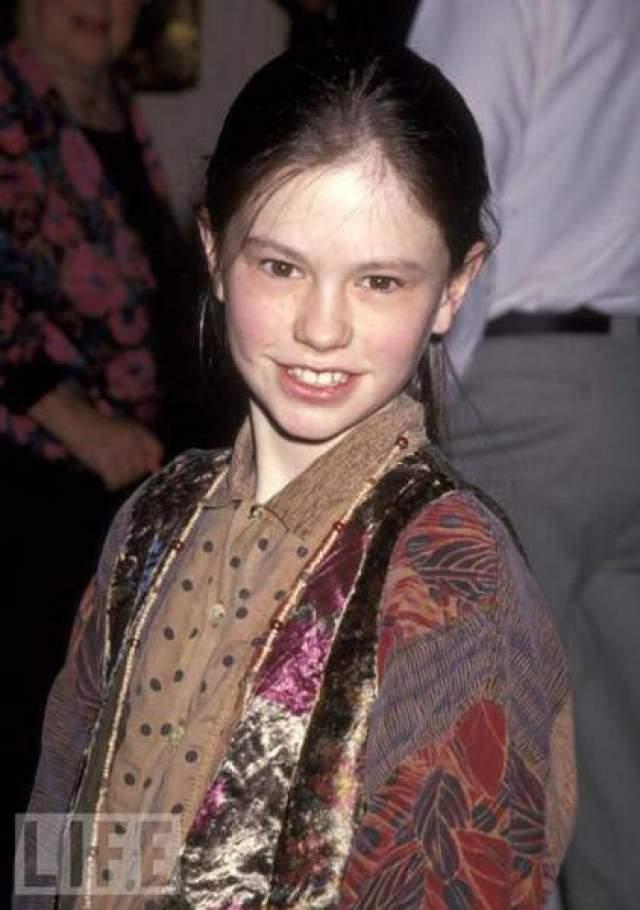 Анна Пакунин в 12 лет