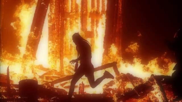 2 сентября 2017 года. Посетитель фестиваля Burning Man в Неваде, США, бросился в костер.