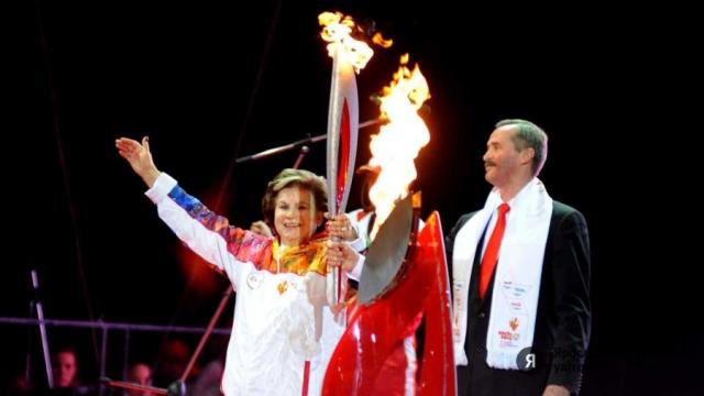 В 2014 году на церемонии открытия зимней Олимпиады в Сочи Валентина стала одной из восьми россиян, несущих Олимпийский флаг.
