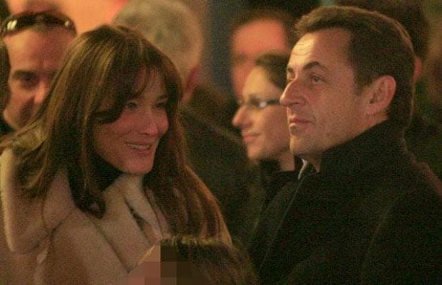 Знакомство с Саркози состоялось в 2007 году во время одной из светских вечеринок, куда президента привел друг, чтобы Николя немного расслабился после недавнего развода.