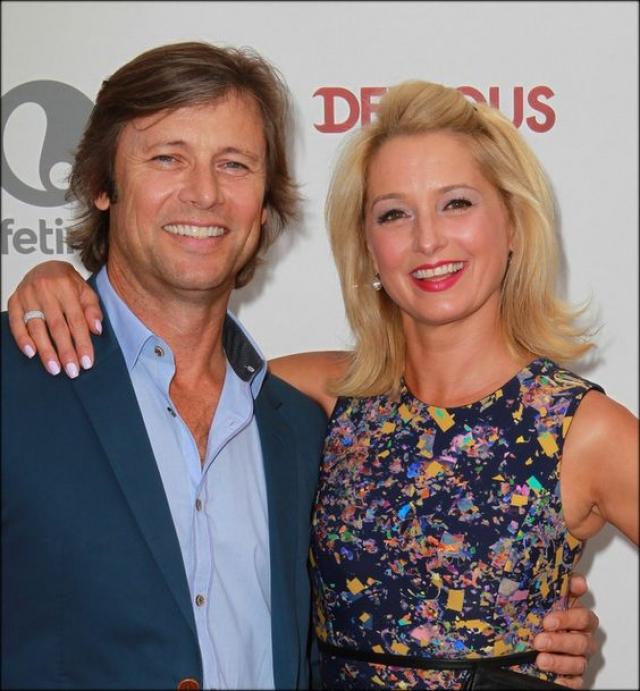 У Гранта второй брак с бывшей балериной и актрисой Кэтрин Ланаса, ранее бывшей супругой Денниса Хопера. Пара воспитывает дочь.
