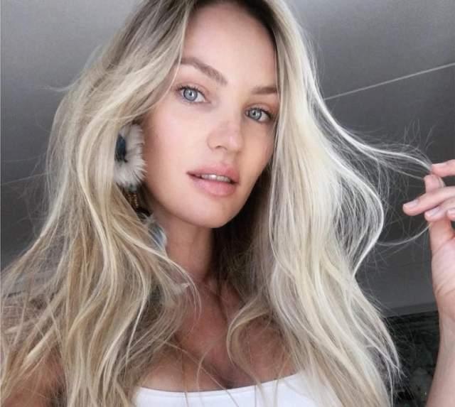 Модель Кэндис Свейнпол прославилась именно в образе блондинки.
