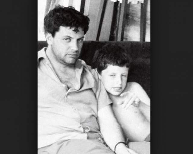 Александр Ширвиндт с сыном Михаилом.
