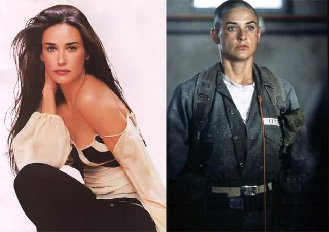 "Деми Мур, ""Солдат Джейн"" (1997)."