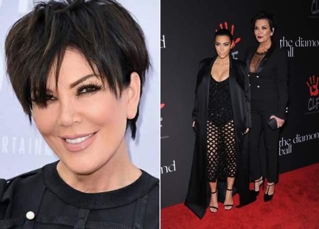"""Ким Кардашьян и мама Крис Дженнер. Маме ТВ-реалити-шоу уже давно отметила 60-летний юбилей, но выглядит едва ли не горячее дочери. Крис предприниматель и телевизионный продюсер, а благодаря """"Семейству Кардашьян"""" известна публике так же широко, как дочь."""