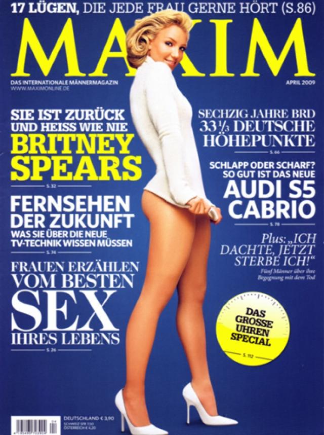 В 2009 году в продолжении обнаженной темы певица снялась нагишом для немецкого издания журнала Maxim.