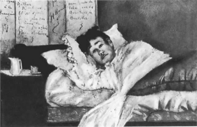 Скончался Рембо в возрасте 37 лет, в госпитале, где его считали негоциантом. Причиной смерти послужила ампутация ноги, которая пагубно сказалась на общем состоянии здоровья поэта, подорванного в путешествиях.