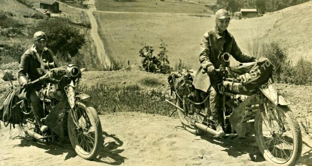 1916 - Сестры Аделина и Августа Ван Бюрен становятся первыми женщинами, проехавшими на мотоциклах от одного побережья США до другого, стартовав из Бруклина 5 июля и прибыв 12 сентября в Сан-Франциско. Они также первыми среди женщин покоряют на мотоциклах 4291-метровую гору Пайкс Пик.