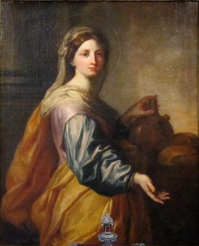 Святая Зита. При жизни Зита была очень добрым человеком и даже совершала чудеса. Умерла она в далеком 1272 году, а когда через 300 лет ее тело было эксгумировано, оно оказалось нетленным.