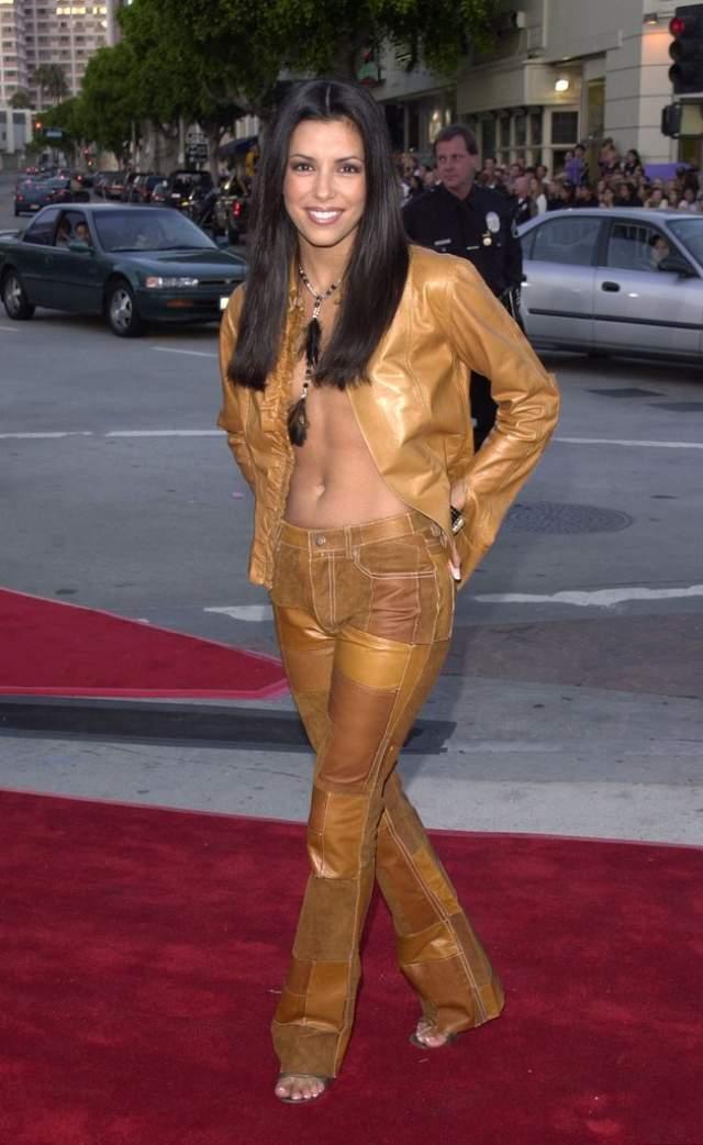 Стильная Ева Лонгория в 2001.