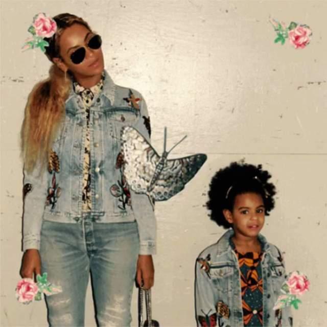 На самом деле, у певицы и ее дочери от продюсера и рэпера Джей Зи, с которым она сыграла свадьбу в 2012-м, много общего и помимо внешности.
