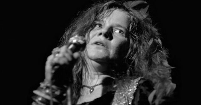 Дженис Джоплин. Данные снимки стали последними концертными фото певицы, через несколько месяцев она скончалась.