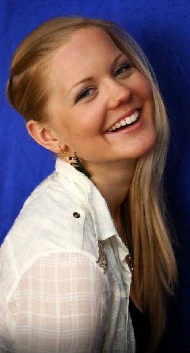 Грете Гайм. Эстонская биатлонистка, чемпионка мира среди девушек, первая и единственная за всю историю своей страны.