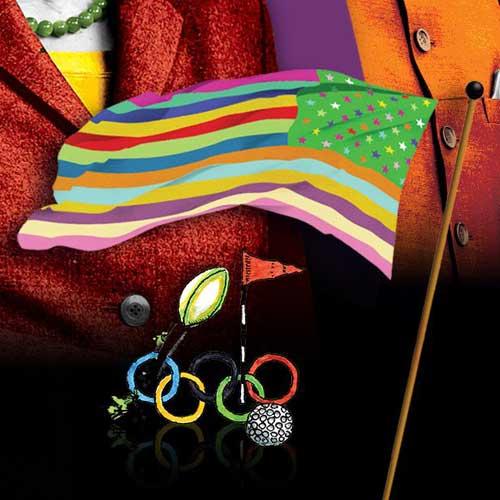 Олимпийские кольца  Векторная картинка